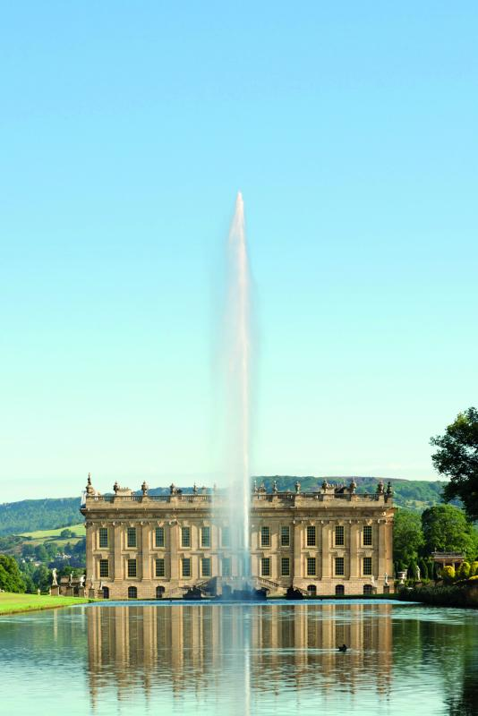 Chatsworth House Private Area: Donated By The Duke Of Devonshire: Guided Tour And
