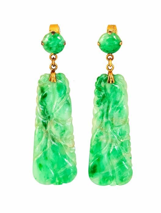 Jade Taper Earring